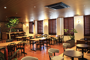 社員が自由に使える施設として、「カフェ」がオープンしました。 イメージ